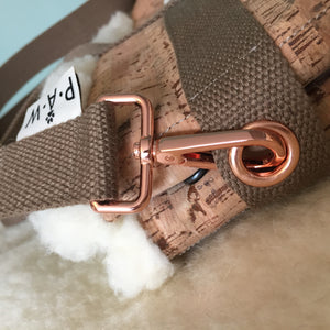 Dog Travel Bed Rose Gold