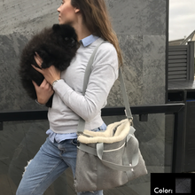 Load image into Gallery viewer, dog travel bed shoulder strap