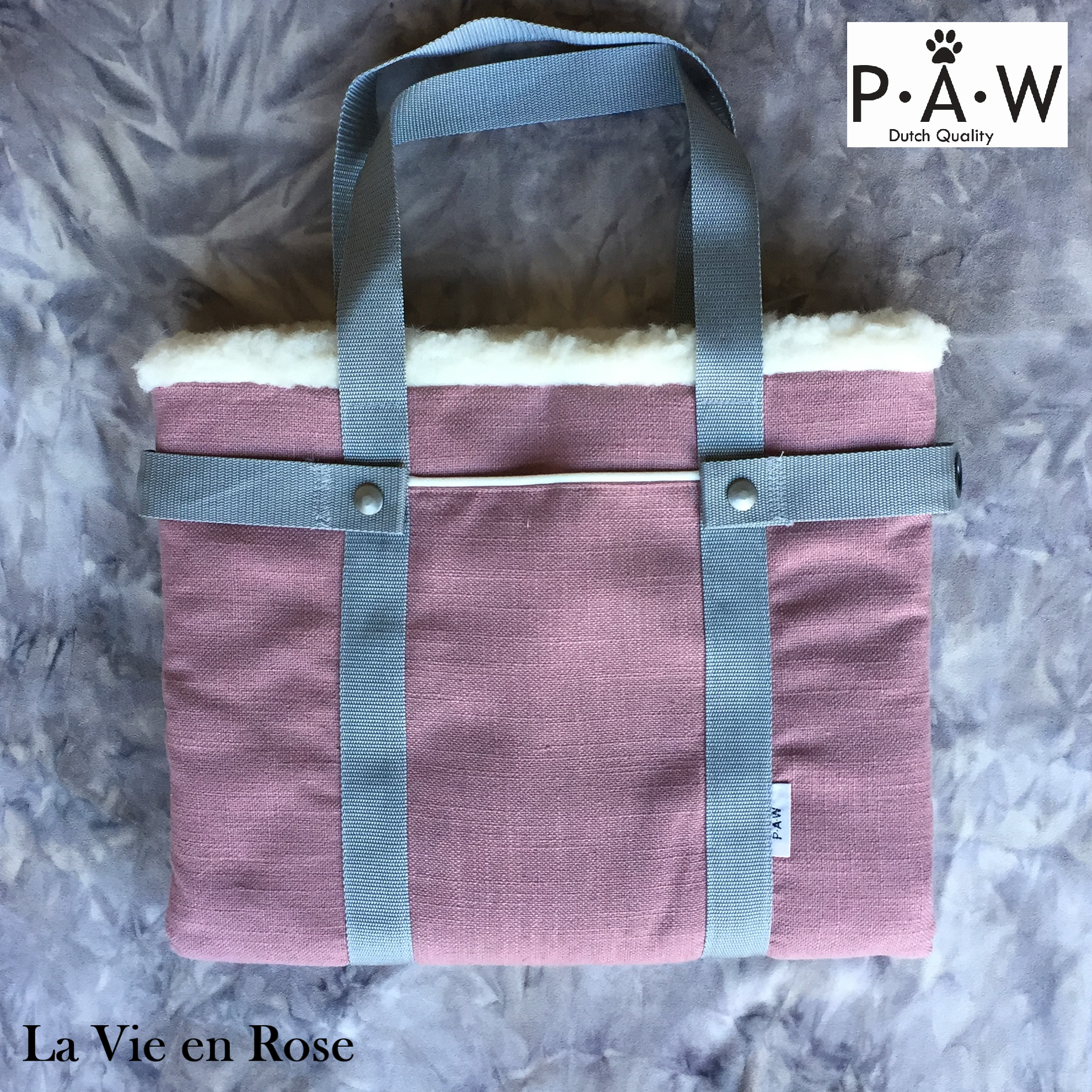 P·A·W Dog Travel Bed