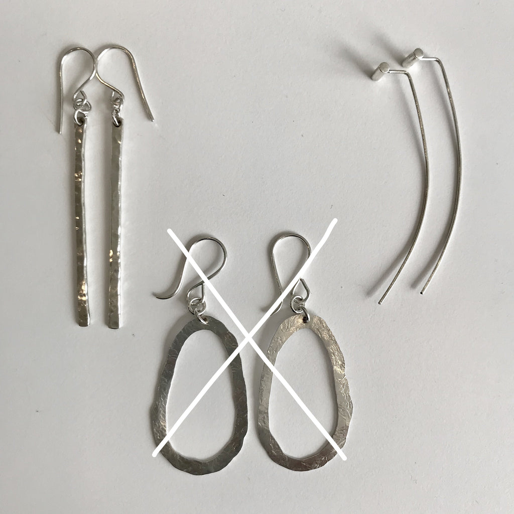 Sterling Silver Earrings by Tina De Suza