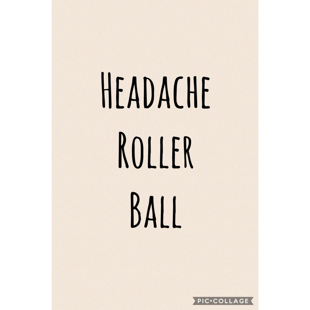 Headache Essential Oil Roller - Aromatherapy Jewelry