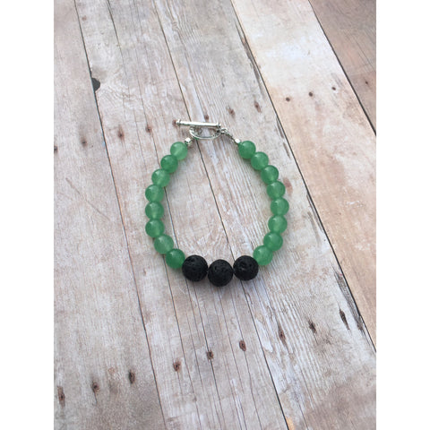 Aventurine Essential Oil Gemstone Bracelet