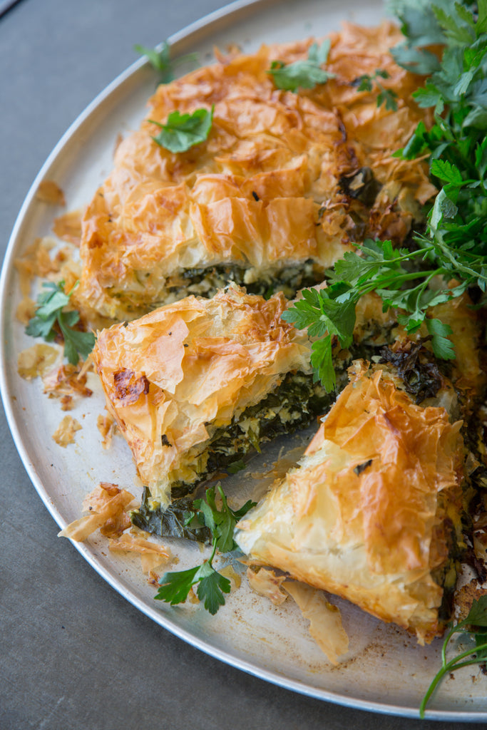 Whole Filo Pies, Frittatas & Quiches