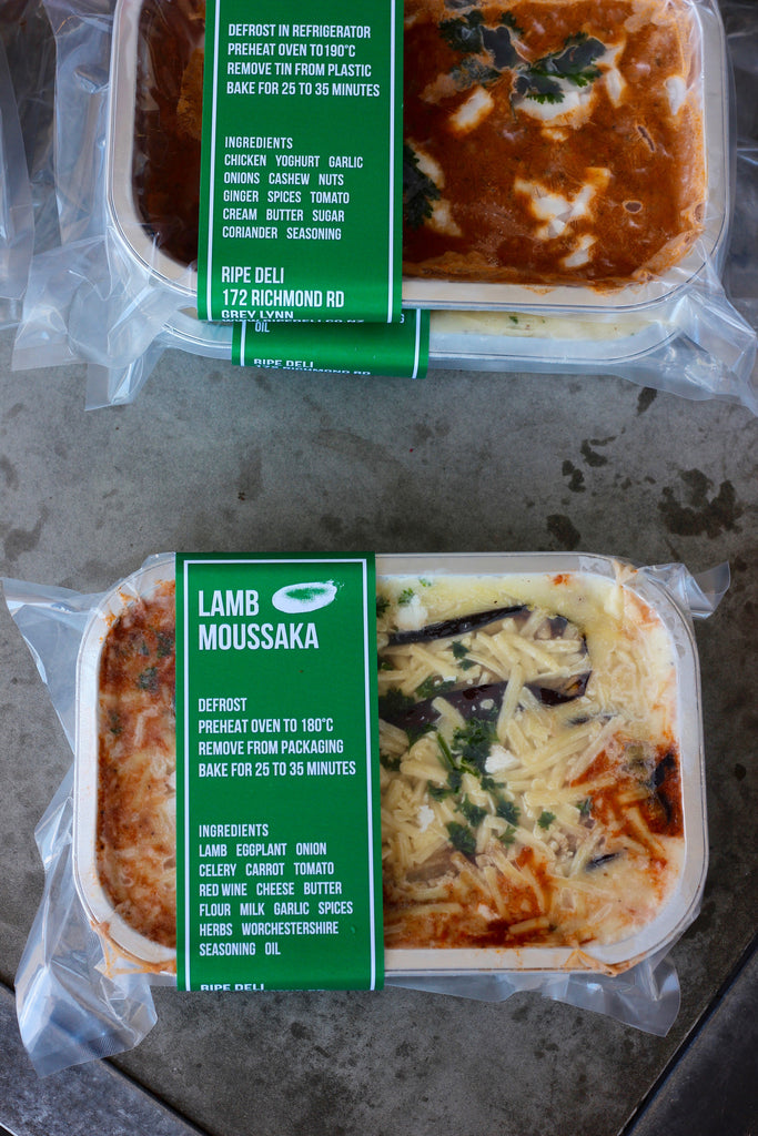 Lamb Moussaka - ripe delicatessen