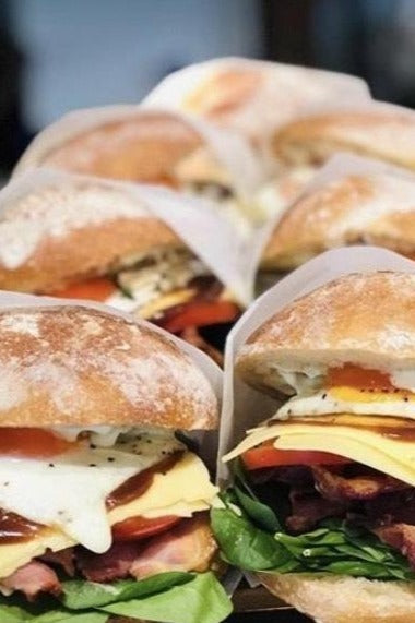 Breakfast Baps & Burritos - Catering