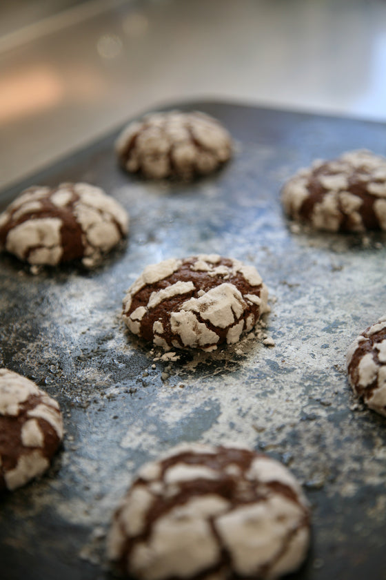 Chocolate Lava Cookie x 4 - ripe delicatessen
