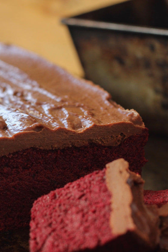 Raw Beetroot Cacao Mudcake - ripe delicatessen