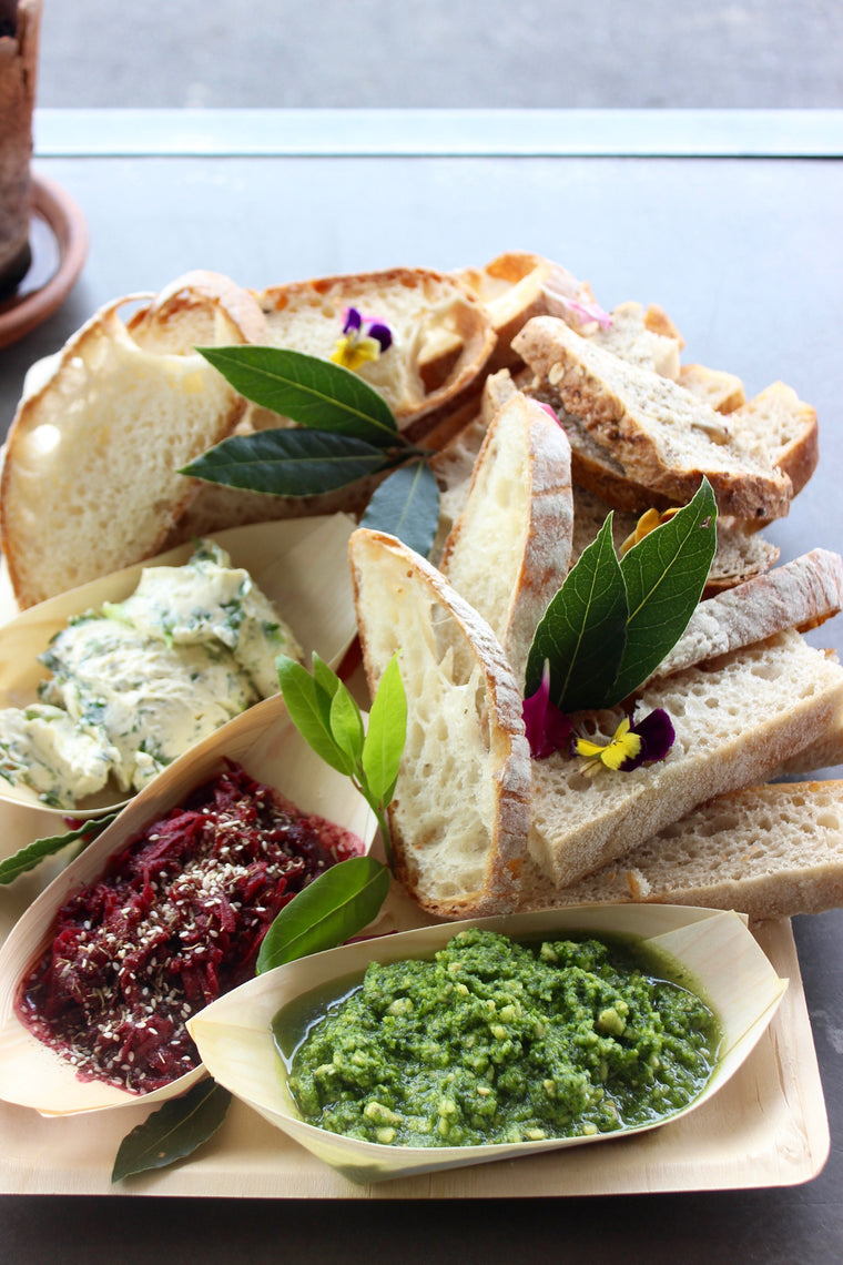 Breads & Spreads Platter - Vegetarian - ripe delicatessen