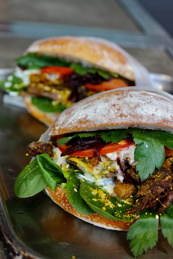 Middle Eastern Lamb Sammie - Catering