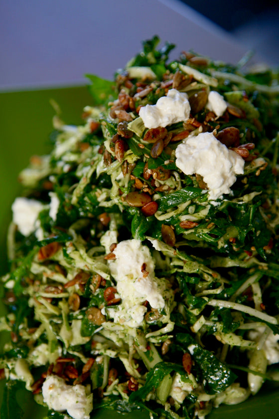 Kylie's Herby Slaw