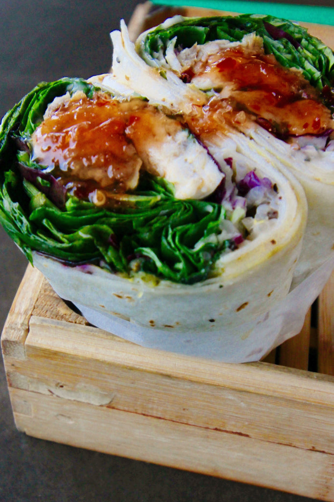 Thai Chicken Wrap - ripe delicatessen