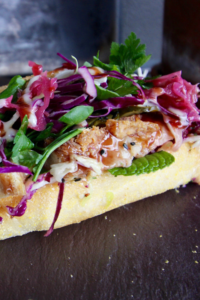 Asian Pork Belly Sammie - ripe delicatessen
