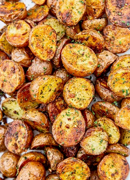 Chipotle Roasted Baby New Potatoes - Catering