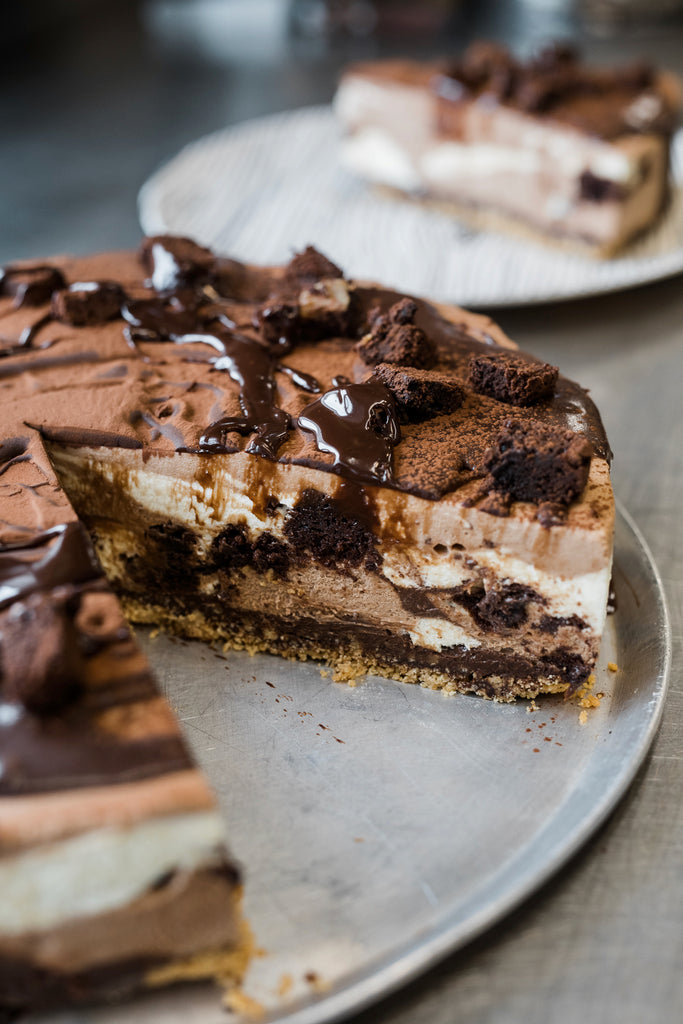 Chocolate Brownie Cheesecake - Catering