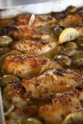 Whole Baked Chicken Breasts - Catering