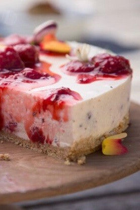 Roasted Strawberry & Fennel Cheesecake - ripe delicatessen