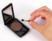 Load image into Gallery viewer, Instant Brush On Brow Compressed Powder with Applicator and Mirror (3 g / 0.1 oz) for Natural Perfect Brow Shape