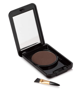 Instant Brush On Brow Compressed Powder with Applicator and Mirror (3 g / 0.1 oz) for Natural Perfect Brow Shape