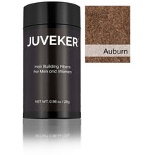 Load image into Gallery viewer, Juveker Hair Fiber Bottle in Color Auburn