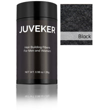 Load image into Gallery viewer, Juveker Hair Fiber Bottle in Color Black