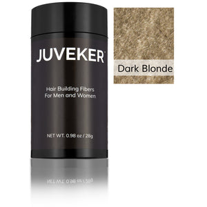 Juveker Hair Fiber Bottle in Color Dark Blonde