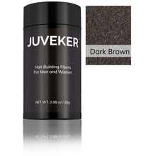 Load image into Gallery viewer, Juveker Hair Fiber Bottle in Color Dark Brown