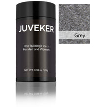 Load image into Gallery viewer, Juveker Hair Fiber Bottle in Color Grey