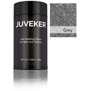 Juveker Hair Fiber Bottle in Color Grey