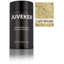 Load image into Gallery viewer, Juveker Hair Fiber Bottle in Color Light Blonde