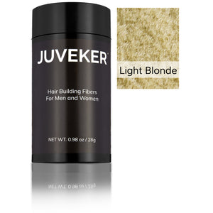 Juveker Hair Fiber Bottle in Color Light Blonde