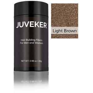 Juveker Hair Fiber Bottle in Color Light Brown