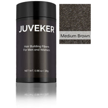 Load image into Gallery viewer, Juveker Hair Fiber Bottle in Color Medium Brown