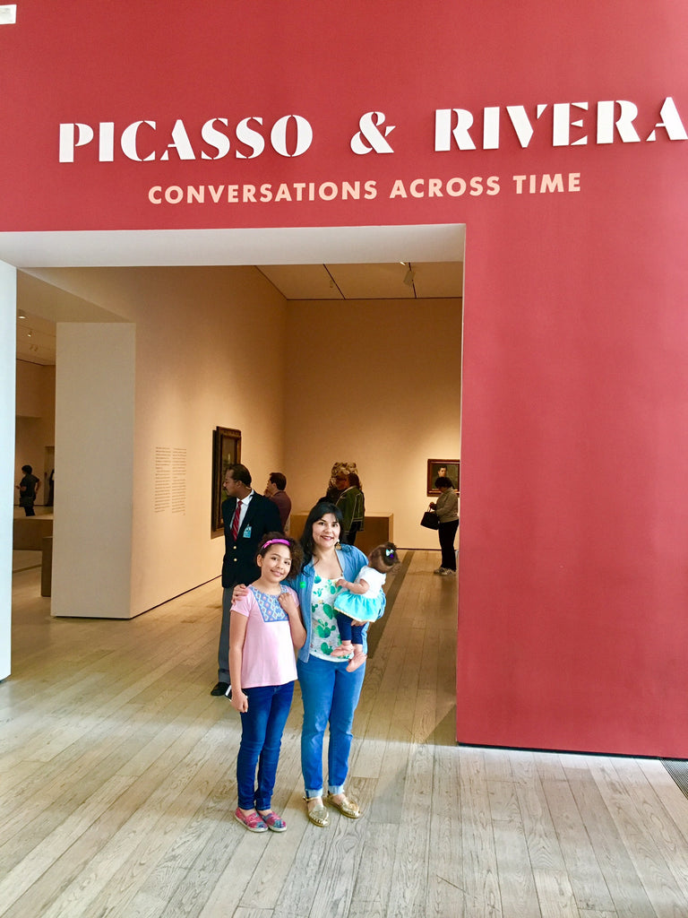 Our Visit to Picasso and Rivera: Conversations Across Time at LACMA