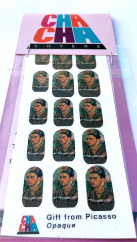 Frida Gift from Picasso Nail Decals