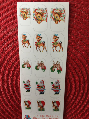 Rudolph the Red Nose Reindeer Vintage
