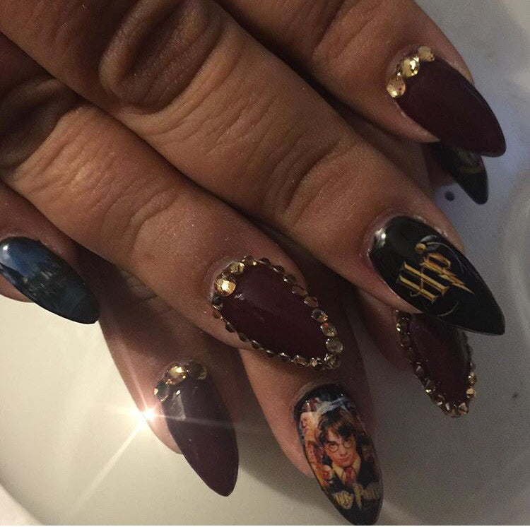 Harry Potter Nail Decals