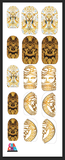 Versace Nail Decals