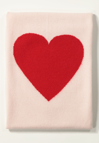 Heart Cashmere Baby Blanket