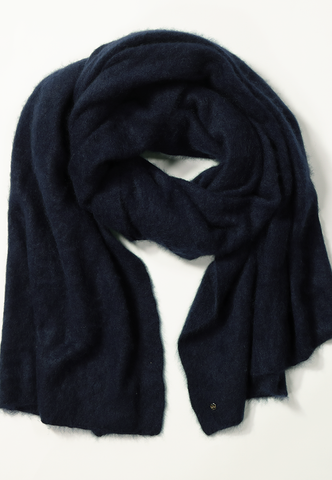 Bobby Brushed Cashmere Wrap