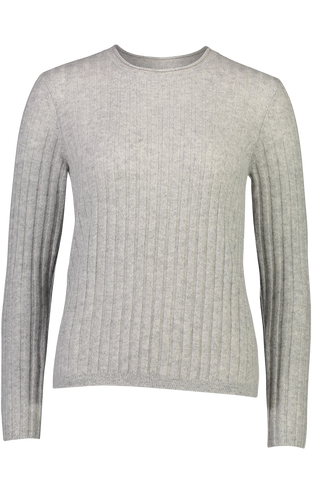 Lexi Ribbed Cashmere Tee