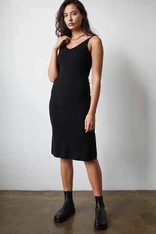 Cashmere Slip Dress