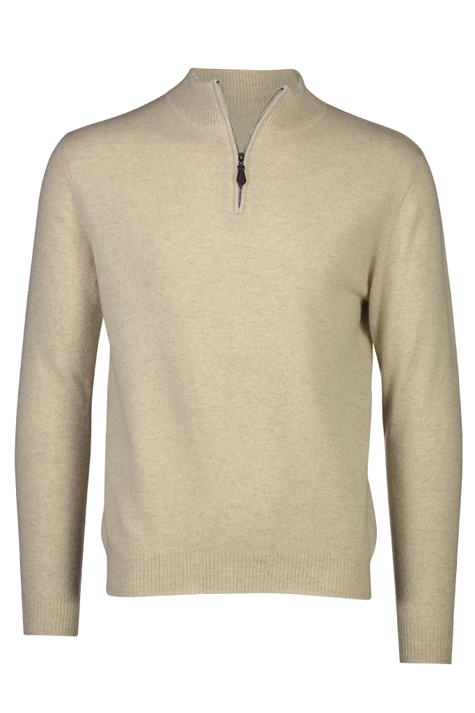 Spencer Cashmere Sweater w Zip