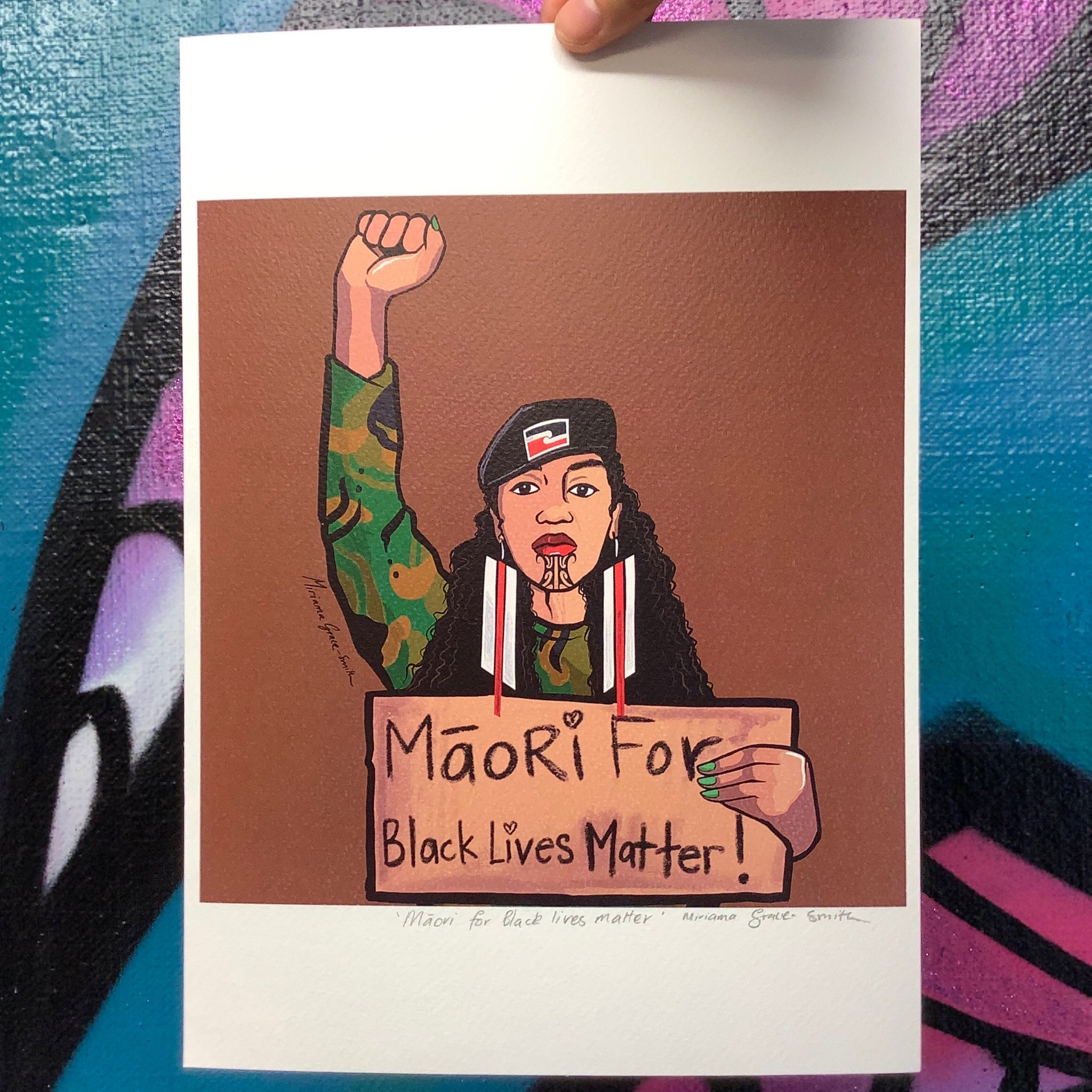Māori for Black Lives Matter