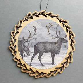 New Lasercut Ornament Deer #6018