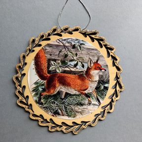 New Lasercur Ornament Fox #4567