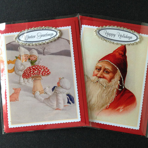 Holiday Cards sets of 2