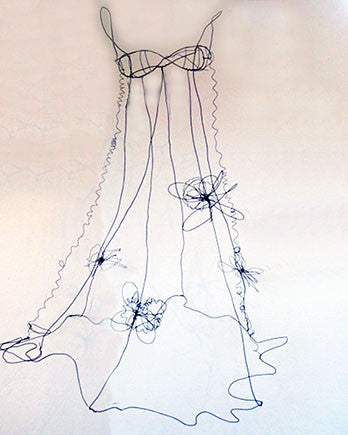 Wire Art Spring Gown
