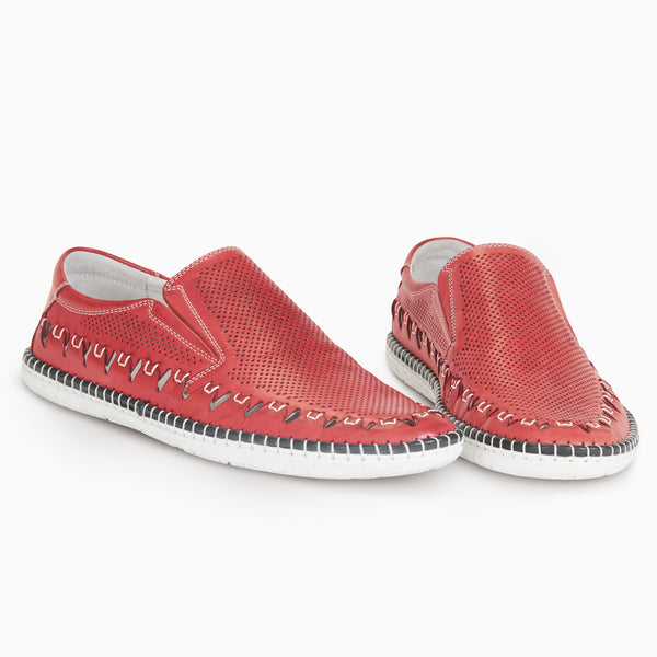 the lausac - semmi shoes - Dark Red / 8 -  - 6