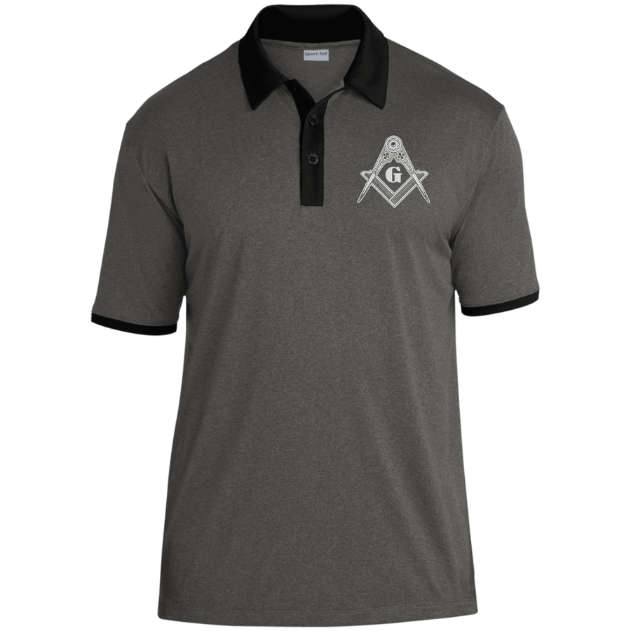 Dual-Color Polo [Square & Compass]