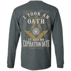 I Took An Oath It Has No Expiration Date